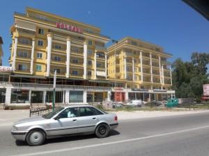 Hotel in Durres an der Adria