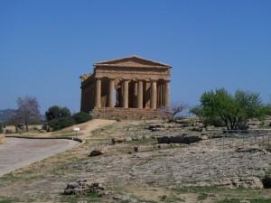 Agrigento - mehr Tempel als in ganz Griechenland Foto: Wolfgang Prabel