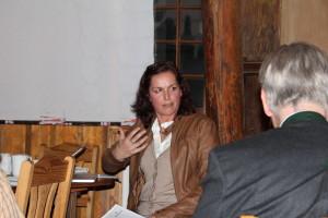 Tatjana berichtet von Köln. Foto Birgit Helk
