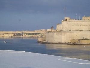 Befestigte Küste auf Malta Foto: Wolfgang Prabel