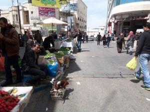 Straßenszene in Bethlehem