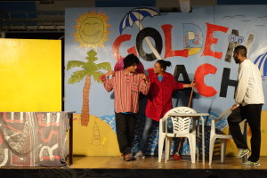 Cabaret in Giulianova, Foto: Birgit Helk